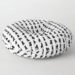 MINIMALIST DOGS Floor Pillow