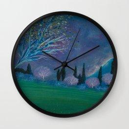 Primeval Heaven Wall Clock