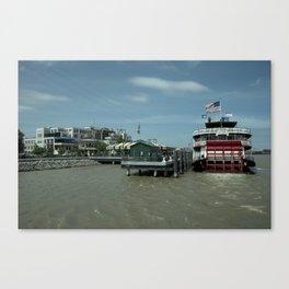 Paddle Steamer Natchez Canvas Print