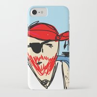 pirate ship iPhone & iPod Cases featuring Pirate by Rimadi