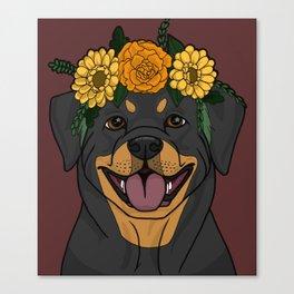 Pretty Pup Canvas Print