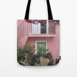 A Day in the Life - Capri, Italy Tote Bag