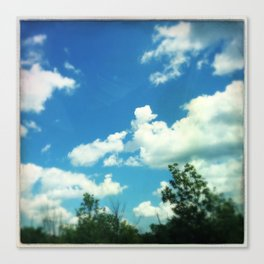 Open Skies Canvas Print