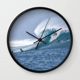 Surf - Surfing - Big Wave - Surfer - Splash. Little sweet moments. Wall Clock
