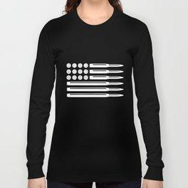 Bullets American Flag Usa Pro Gun Rights Infidel Nra Patriotic t-shirts Long Sleeve T-shirt