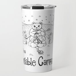 The Portable Campfire B&W Travel Mug