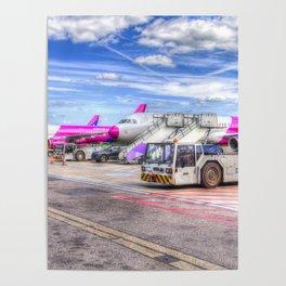 Wizz Air Aircraft Poster