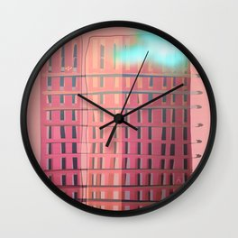 Urban Summer / Loneliness Wall Clock