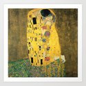 THE KISS - GUSTAV KLIMT by iconicpaintings