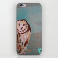 the who iPhone & iPod Skins featuring Who??? by C.BENNETT