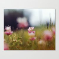 clover Canvas Prints featuring Clover by elle moss