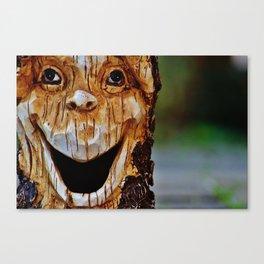 human face Canvas Print