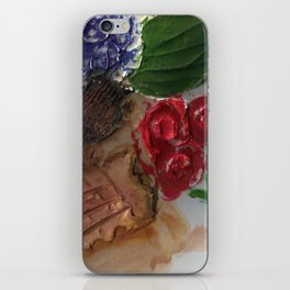 Gesso Scan iPhone Skin