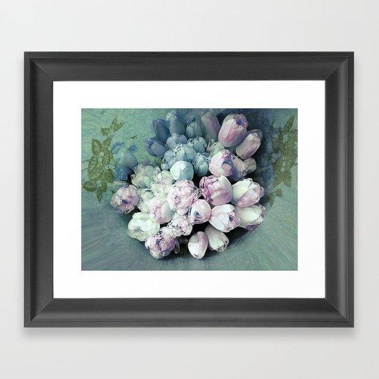 Tulips Antique Framed Art Print
