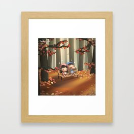 Just You & Me (Fall) Framed Art Print