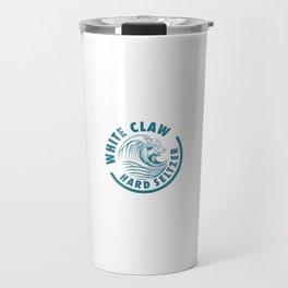 The Big Wave X Distressed White Claw Travel Mug