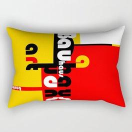 Bauhaus Lamp Rectangular Pillow