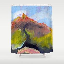 Saddlerock 1 Shower Curtain