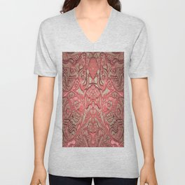 Fish Shouldn't Look Into Mirrors Unisex V-Neck