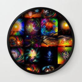 Collected Works Wall Clock