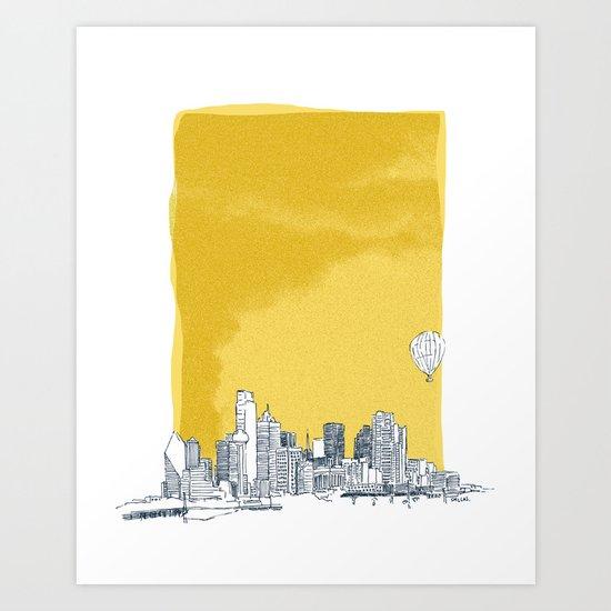 Dallas Art Print