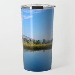 reflection of soul Travel Mug