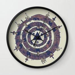The Cycle Wall Clock