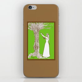 Nimue & Merlin iPhone Skin
