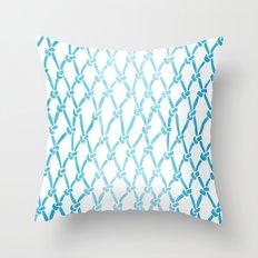 Net Water Throw Pillow