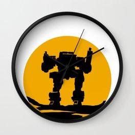 Robot Gun Remote-Control Technology Virtual Gift Wall Clock