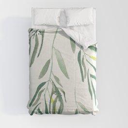 Eucalyptus Branches II Comforters