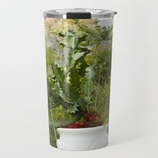Greenery Travel Mug