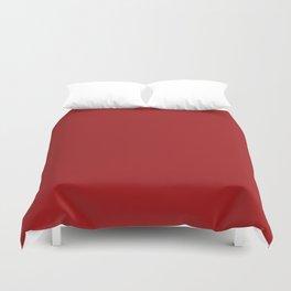 Spartan Crimson - solid color Duvet Cover