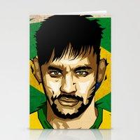 neymar Stationery Cards featuring Neymar Junior by King Arnanda