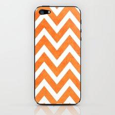 orange chevron iPhone & iPod Skin