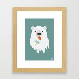 Consolation Prize Framed Art Print