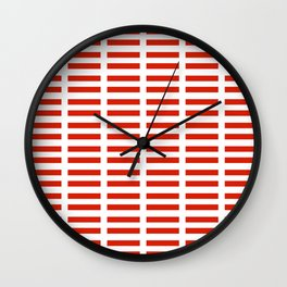 flag of austria 2 -,Österreich,Austrian,Österreicher,Vienna,Salzburg,Mozart, Schoenberg Wall Clock