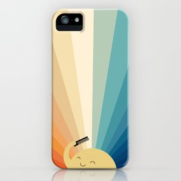 Sunshine will be ready in a minute iPhone Case