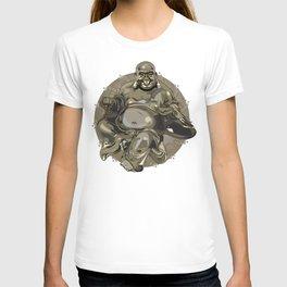 Laughing Buddha II T-shirt