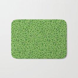 Little Green Snakes Bath Mat