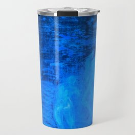 In liquid Indigo Travel Mug