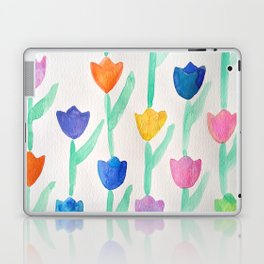 -happy tulips- Laptop & iPad Skin