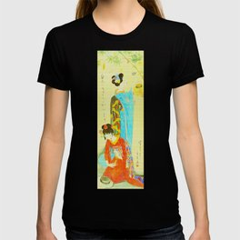Vintage Japanese Geisha Girls T-shirt