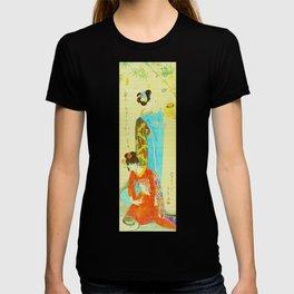Vintage Japanese Geisha Girls T-shirt