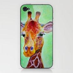 Colorful Giraffe iPhone & iPod Skin