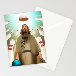 The Dude Abides Stationery Cards