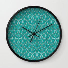 Twilight florets Wall Clock