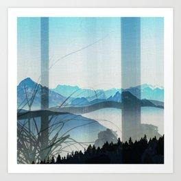 Through the Window Serenity Art Print
