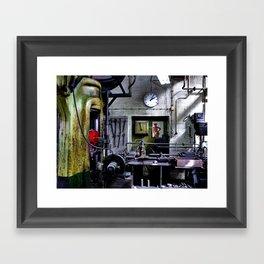 Men's World ...  Workplace Framed Art Print