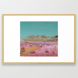Apache Junction Framed Art Print